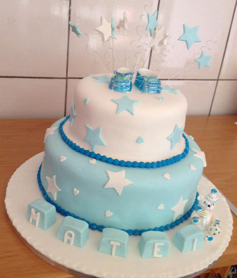 fresh to order christening cake dublin ireland