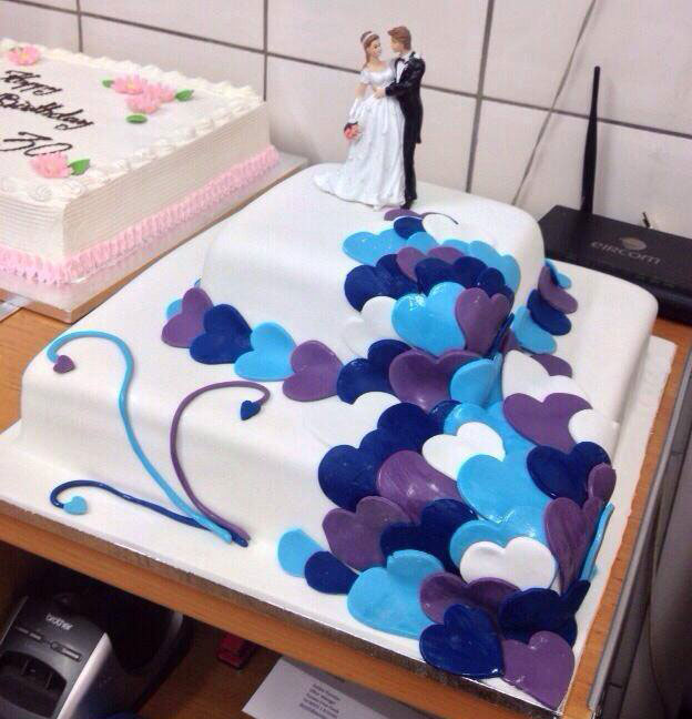 custom wedding cake specialists in dublin ireland