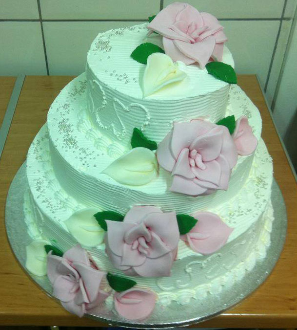 dublin wedding cake