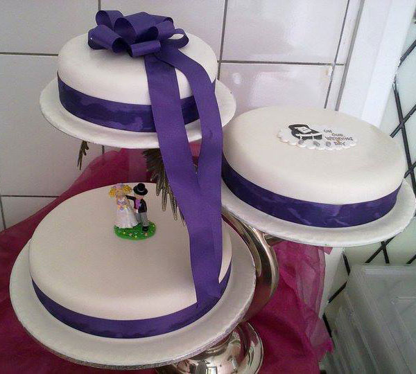 personalized wedding-cakes in dublin ireland